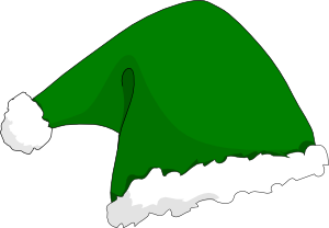 300x208 Elf Clip Art