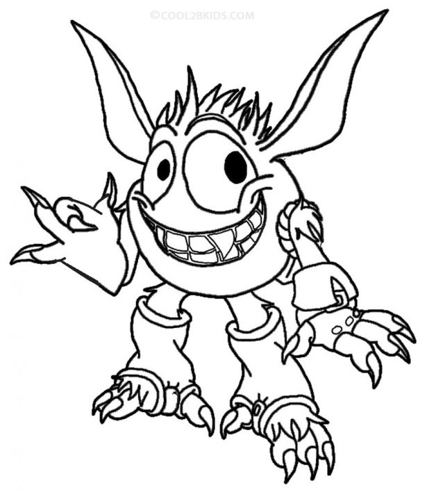 Elf Coloring Pages Free download
