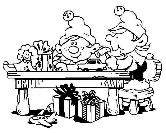 534x429 Made Toys Christmas Elf Print Coloring Pages Free Printable
