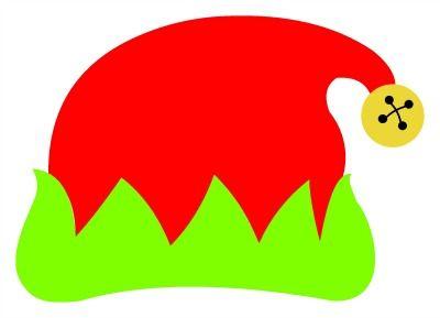 400x289 Elf Hat Clip Art