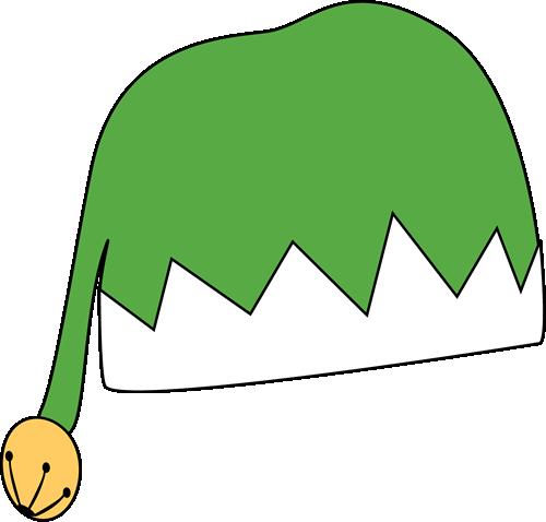 500x478 Green Elf Hat Clip Art