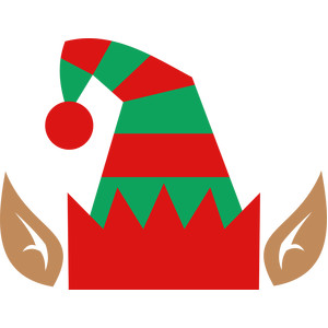 graphic regarding Elf Hat Printable titled Elf Hat Clipart Free of charge down load most straightforward Elf Hat Clipart upon