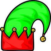 170x170 Clip Art Of Christmas Elf Hat K20117509