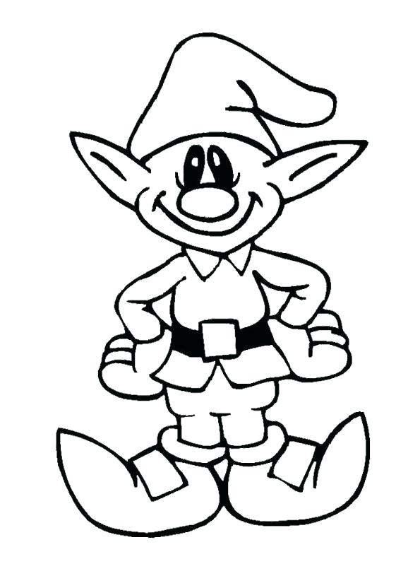 595x815 Elf On The Shelf Coloring Pages Girl Printable Thaypiniphone