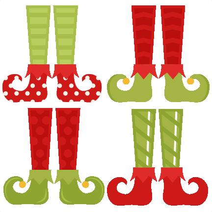 432x432 Elf Feet Clipart