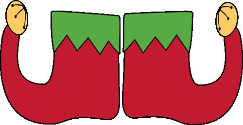500x259 Elf Shoes Clip Art