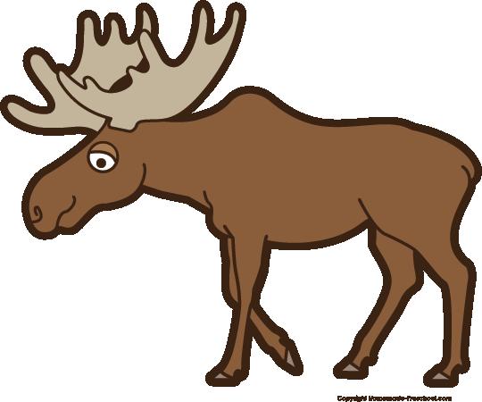 540x450 Top 75 Moose Clip Art