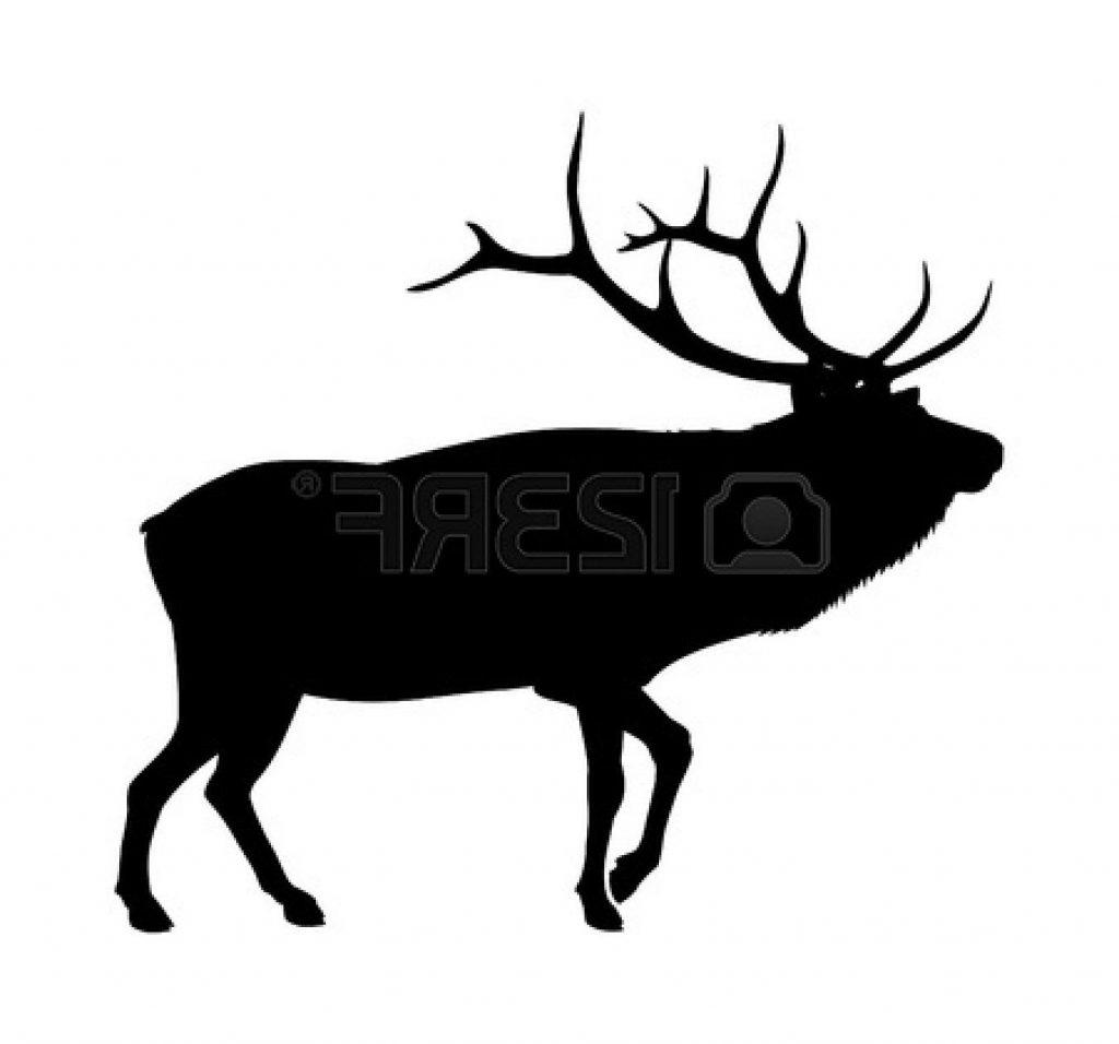 1024x956 Elk Head Clipart