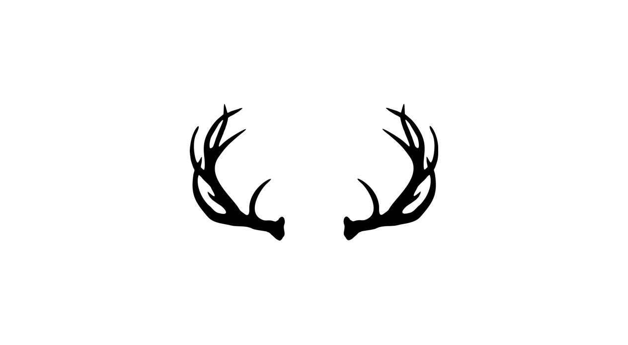 1264x694 Free Moose Antlers Clipart Image