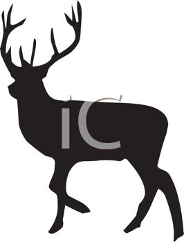 266x350 Royalty Free Elk Clip Art, Deer Clipart
