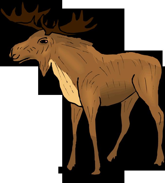 679x750 Top 75 Moose Clip Art
