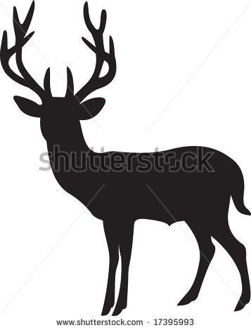 357x470 Elk Clip Art