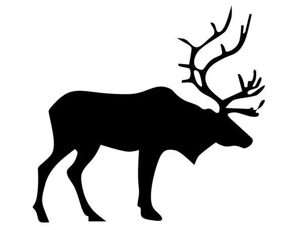 570x456 Die Besten Elk Silhouette Ideen Auf Hirschkopf