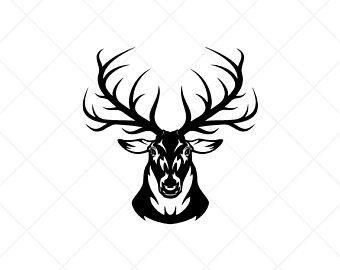 Deer head elk. Clipart free download best