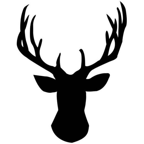 564x564 Deer Silhouettes