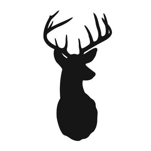 504x504 Buck Clipart Elk Head