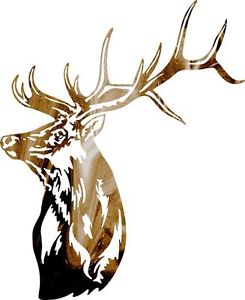 245x300 Dxf Cnc Dxf For Plasma Router Clip Art Vector Bull Elk Head Wall