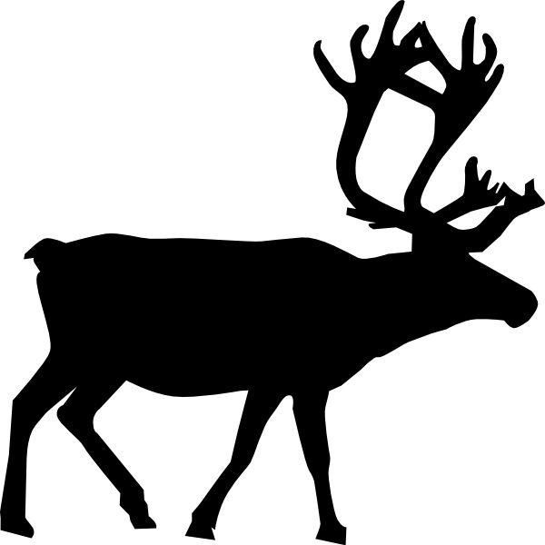 600x600 The Best Reindeer Outline Ideas Deer Pattern
