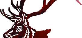 272x125 Elk Head Silhouette Free Download Clip Art Free Clip Art