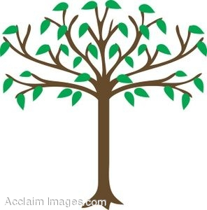 296x300 Leaves Clipart Family Tree