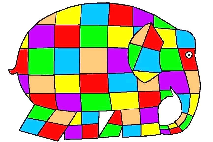 867x577 Elmer The Elephant Clipart