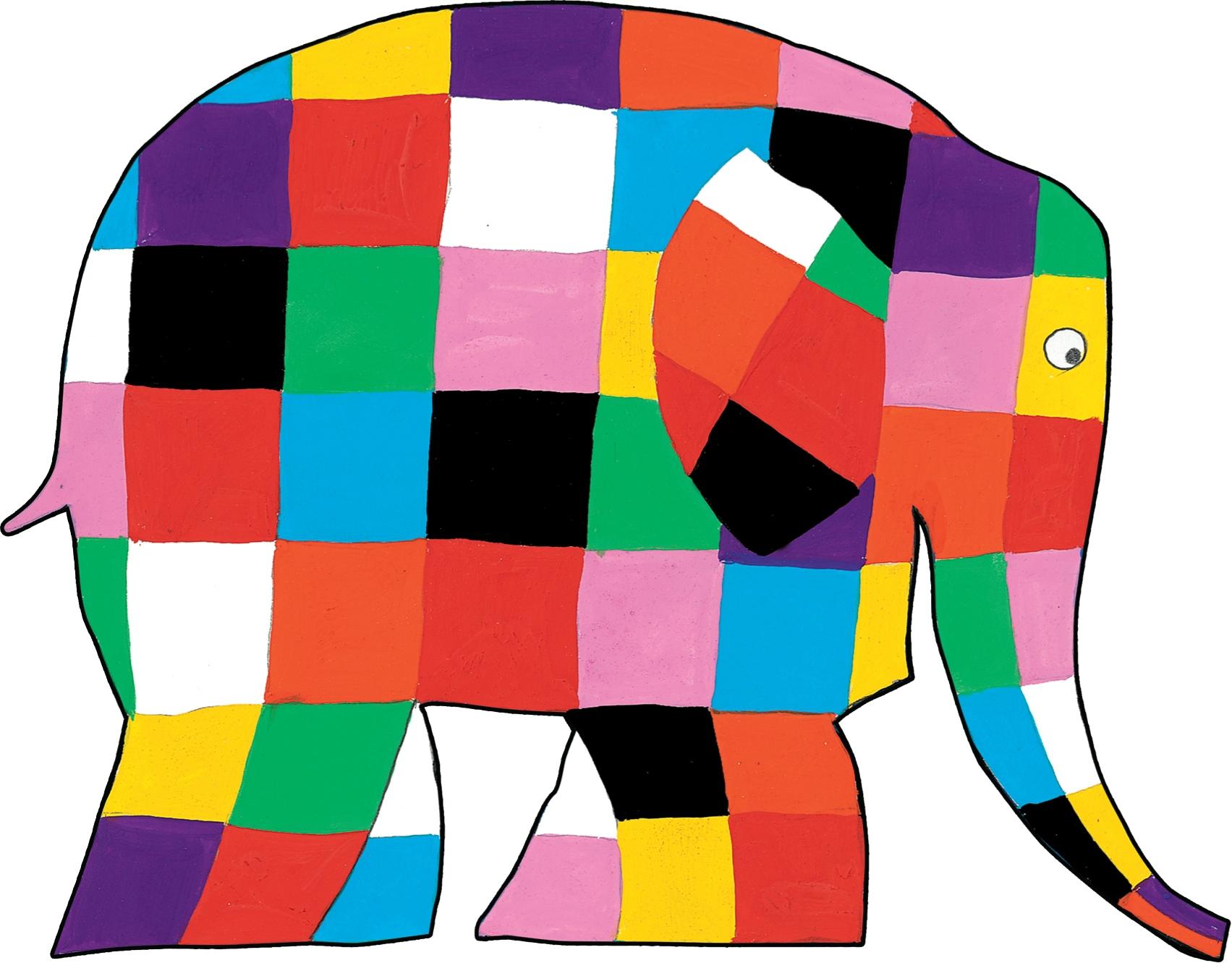 1703x1331 Elmer The Elephant Clipart