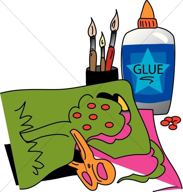 583x612 Top 72 Glue Clip Art