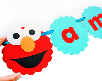 340x272 Elmo Banner, I Am 2 Banner Clipart Panda