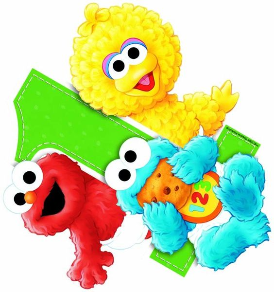 564x600 Elmo 1st Birthday Clipart