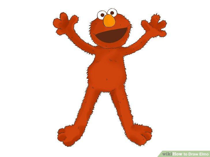 728x546 4 Ways To Draw Elmo
