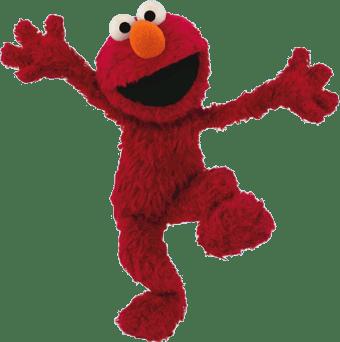 340x342 Sesame Street Elmo Transparent Png