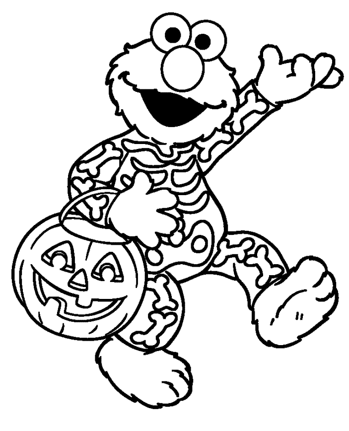 703x868 Elmo Halloween Coloring Pages Other Kids Coloring Pages