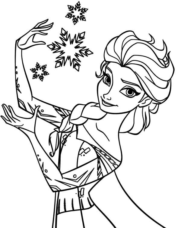 Elsa Coloring Pages