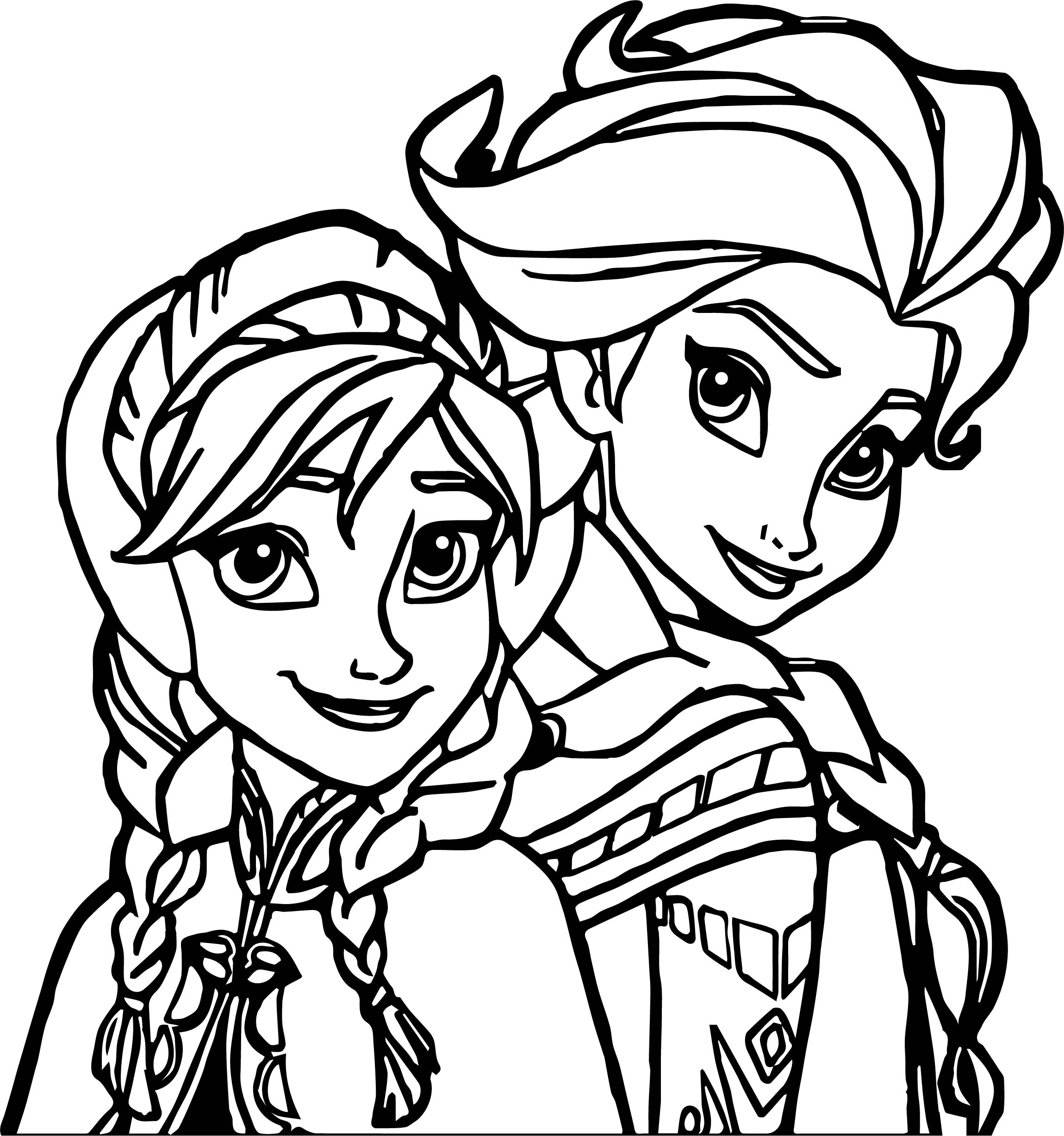 Elsa Coloring Pages | Free download on ClipArtMag