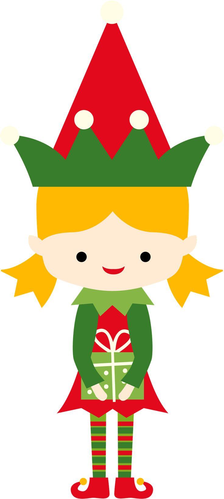 736x1637 Christmas Elf Clipart Girl