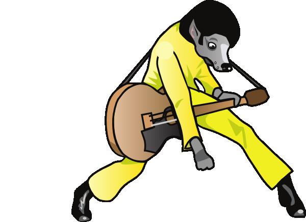 600x436 Elvis Hound Dog Clip Art