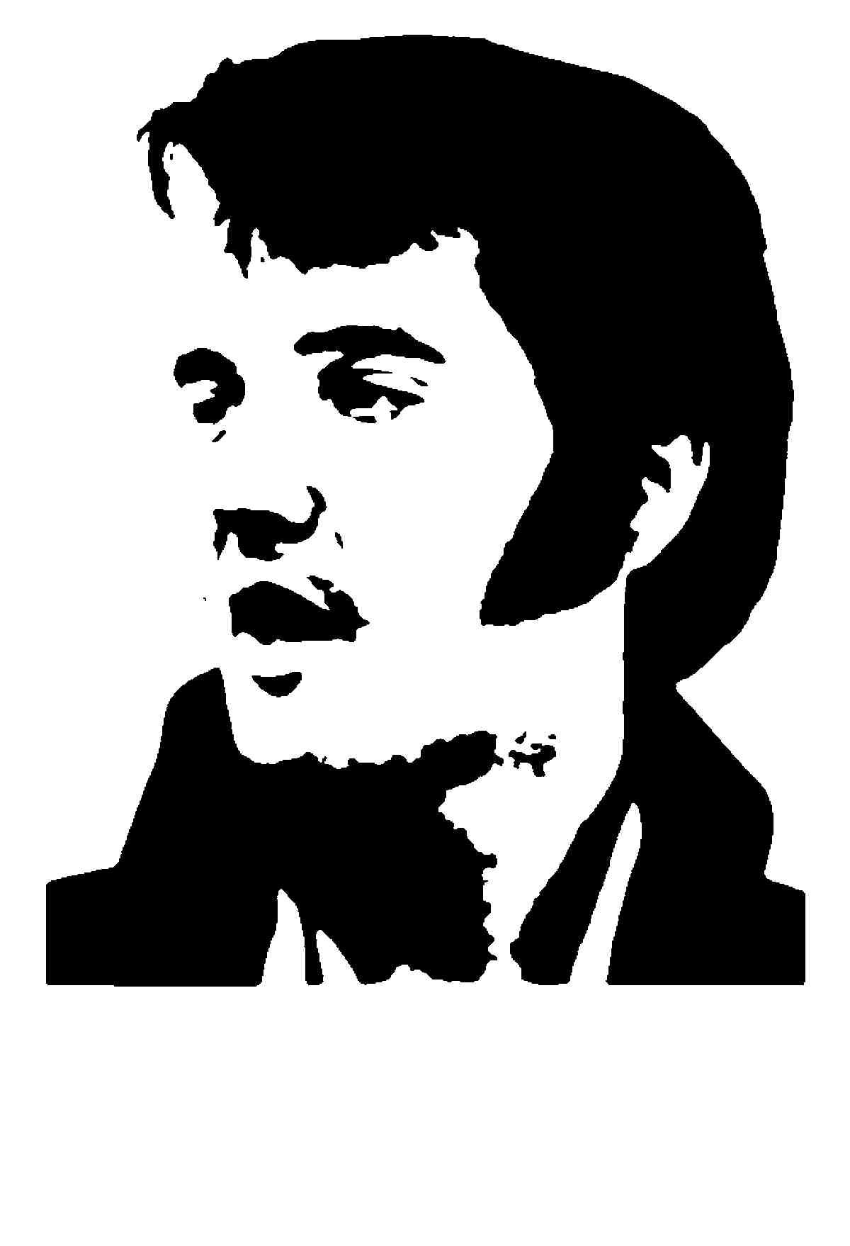 1200x1758 Elvis Presley Clip Art