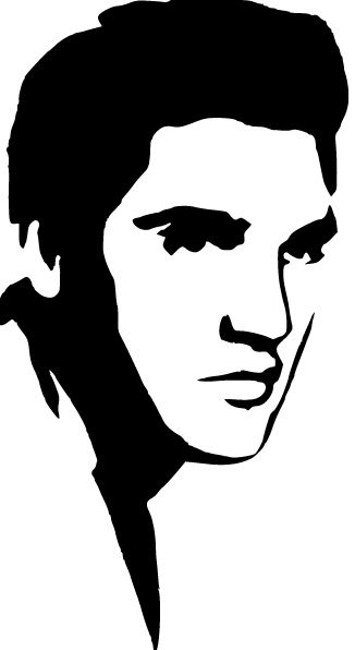 326x596 Elvis Presley Clipart