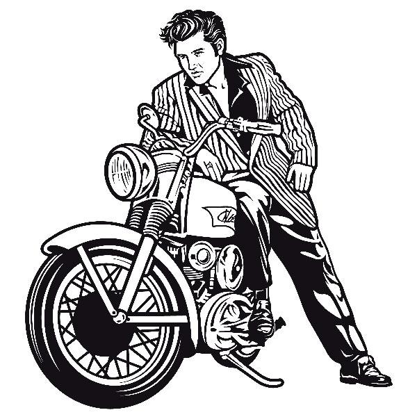 600x600 Elvis Presley Clipart Easy Elvis Presley Drawing