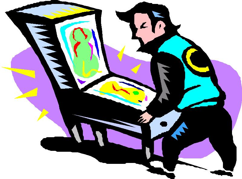 800x591 Pinball Clipart Cartoon