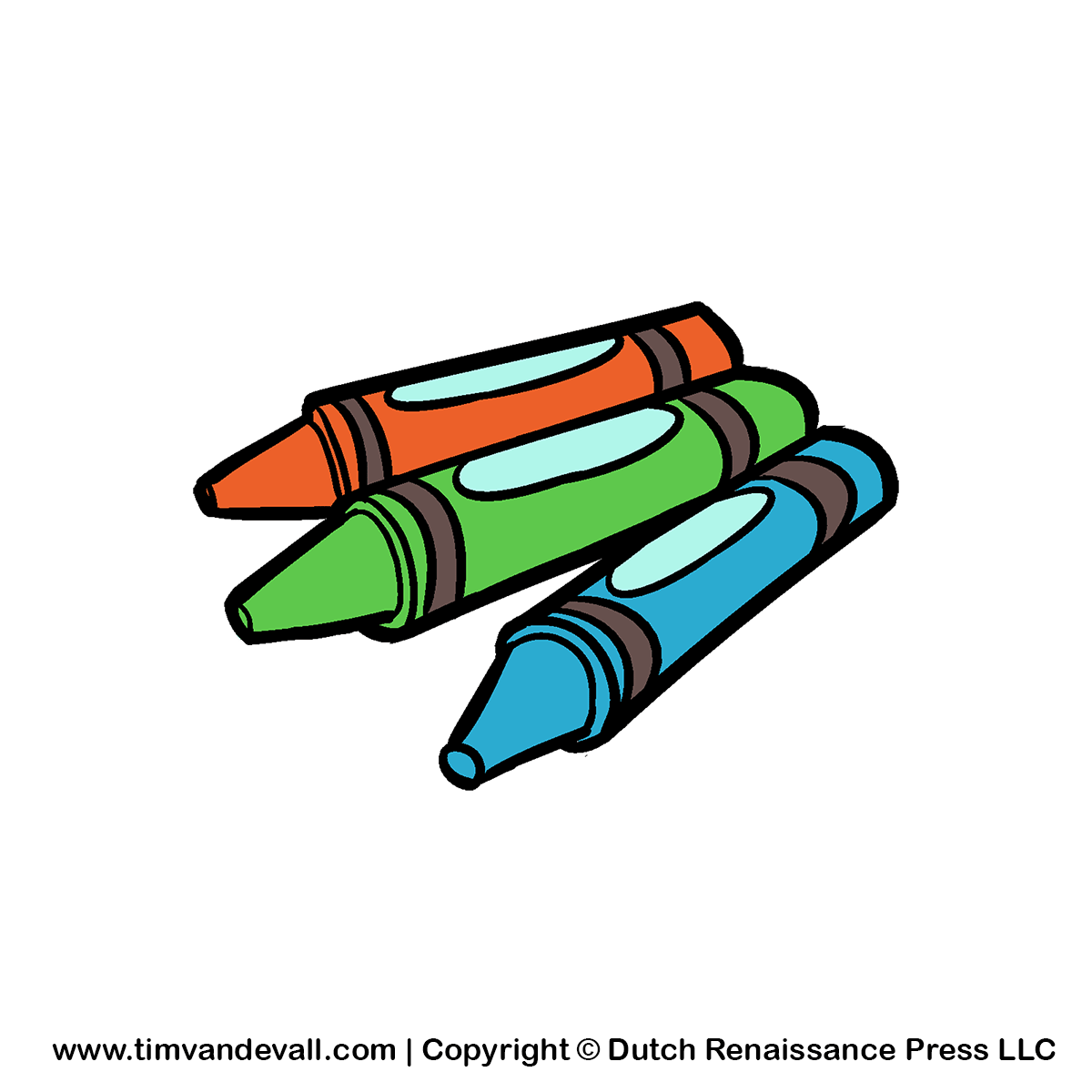 1200x1200 Top 86 With Crayons Clip Art