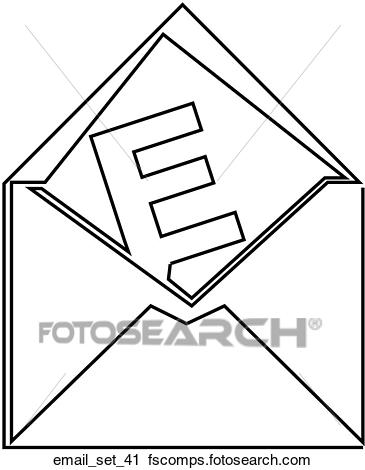365x470 Clipart Of Web Page Email Symbolicon Email Set 41