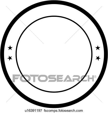450x470 Clip Art Of , Badge, Circle, Department, Fire, Fire Department