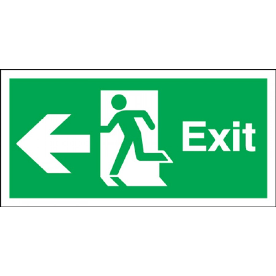 Emergency Exit Signs Clipart