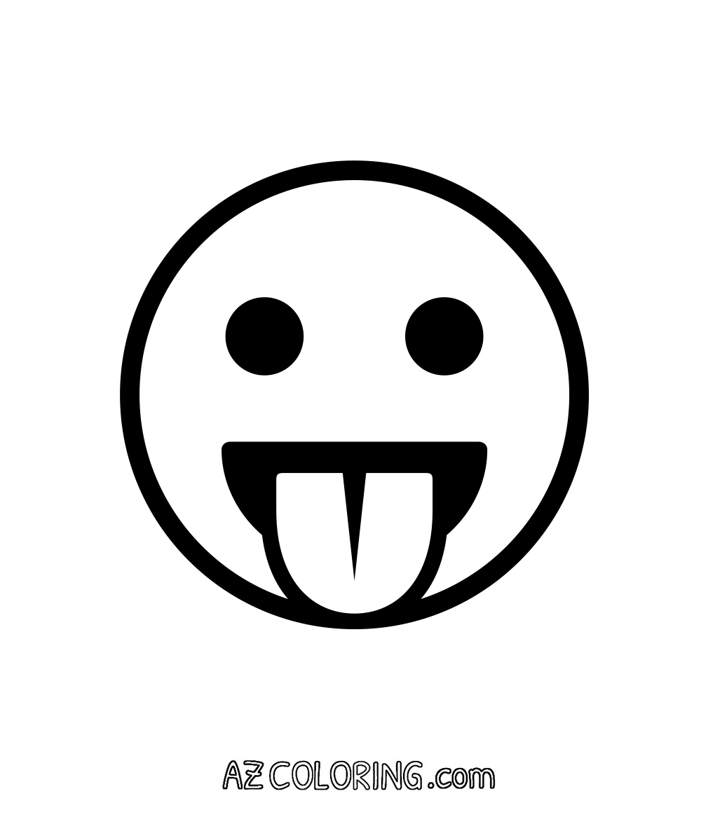Emoji Coloring Pages | Free download best Emoji Coloring Pages on ...