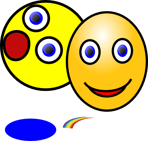 600x572 Showing Different Emotions Clip Art