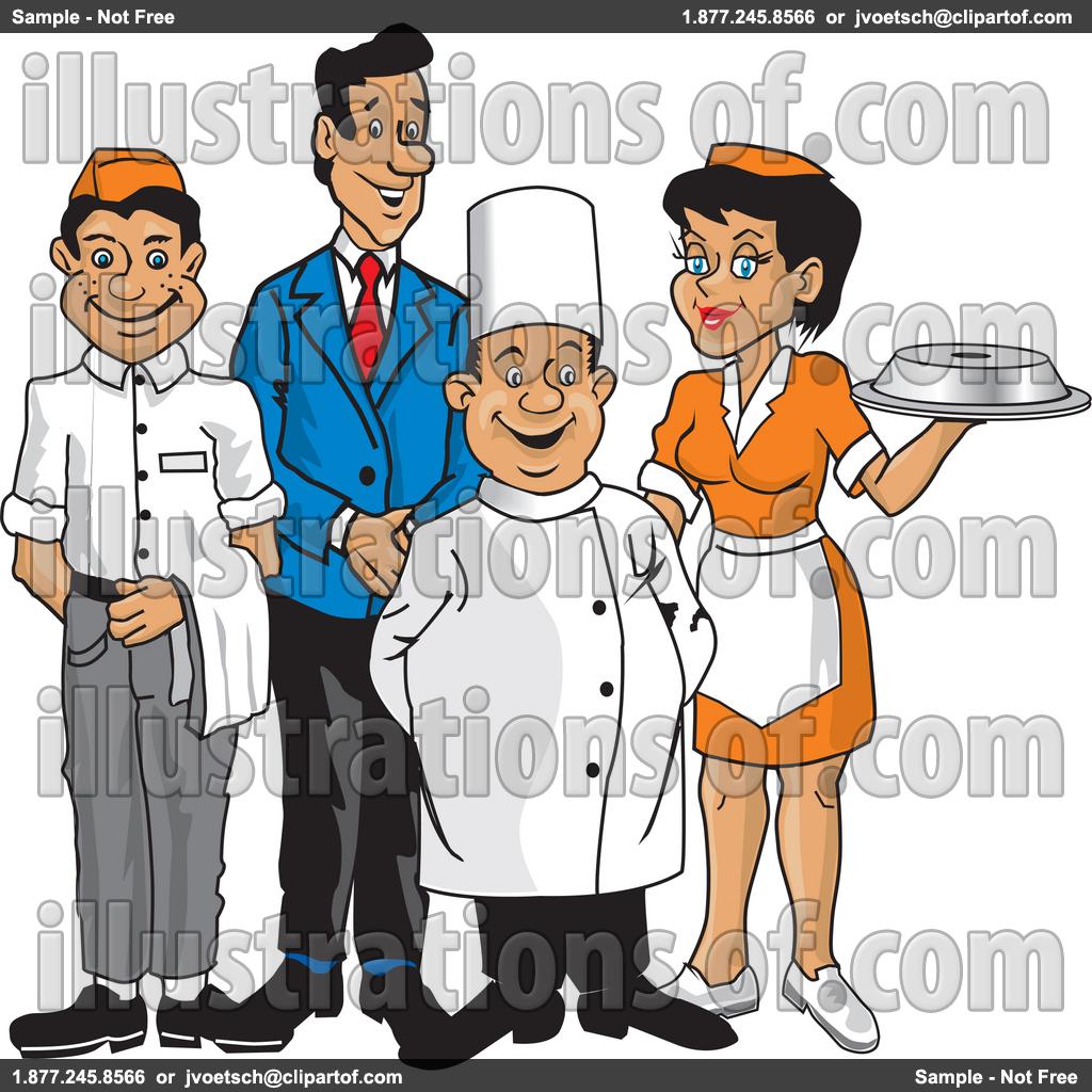 1024x1024 Staff Clipart Restaurant Staff