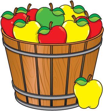 342x365 Basket Clipart Bushel Basket