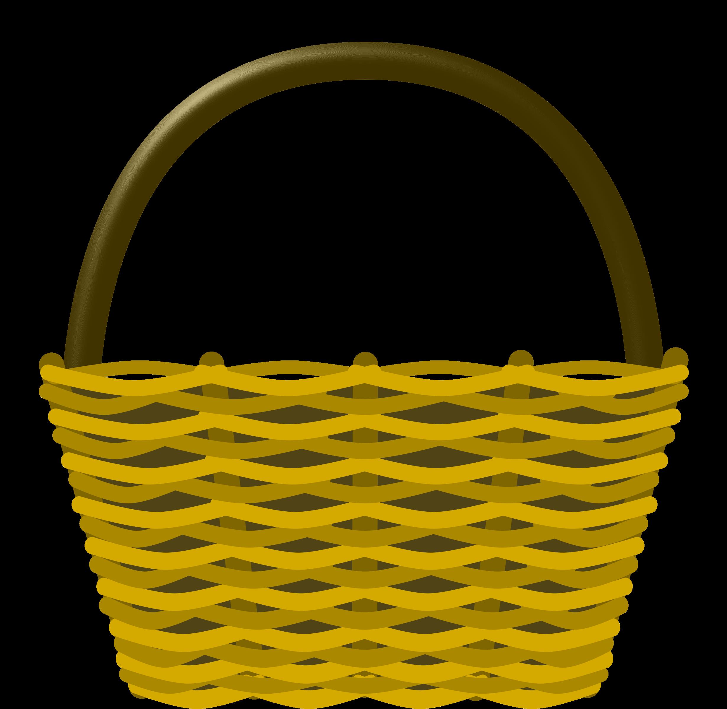 2460x2400 Clipart Empty Apple Basket Clipartfest