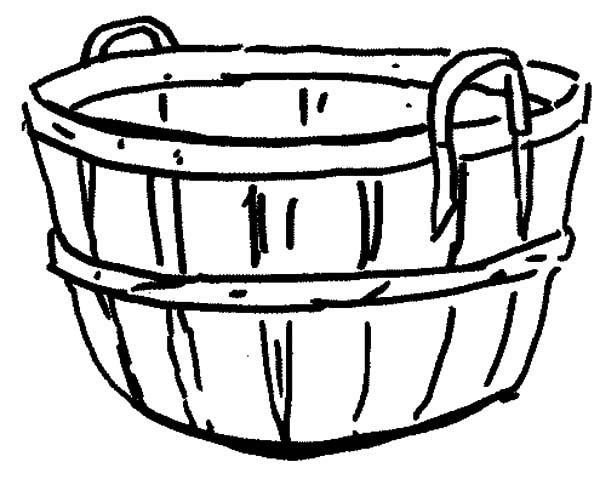 600x485 Drawn Basket Empty